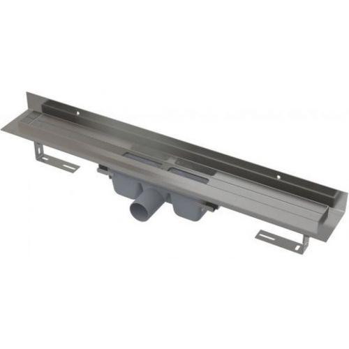 Душевой канал APZ116-850 с порогами для цельной решетки и фиксированным воротником к стене, 850 мм Alca Plast
