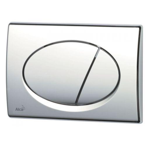 Кнопка управления хром-блестящая 590x390x240 Alca Plast