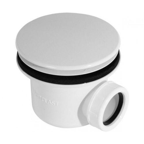 Сифон для душевого поддонa белый Alca Plast