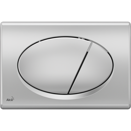 Кнопка управления хром–матовая 590x390x240 Alca Plast