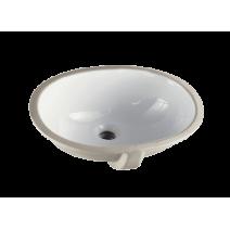 Раковина под столешницу CeraStyle 480*390 мм, белый