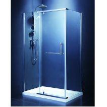 Душевая кабина Devit Comfort 120/80, хром, стекло прозрачное