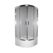 Душевая кабина Devit Nymfa 2115*900 мм (стекла+поддон), раздвижная дверь, стекло матовое 6 мм FEN311PDEV