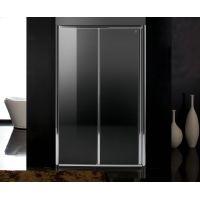 Дверь в нишу раздвижная Eger 120*185, профиль хром, стекло прозрачное 5 мм