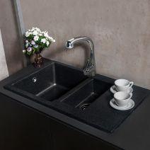 Кухонная мойка Fancy Marble LaPas светло черный