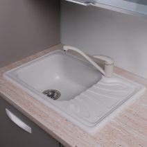 Кухонная мойка Fancy Marble Filadelfia белый