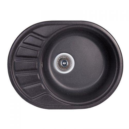Кухонная мойка Fosto 58*45 SGA-420 черный
