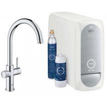 Смеситель для кухни с системой очистки воды Grohe Blue Home 31455000