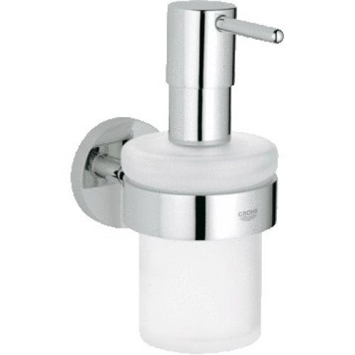 Дозатор жидкого мыла с держателем Grohe Essentials 40448001