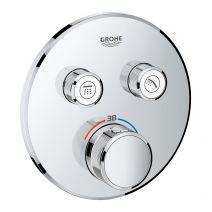 Термостат для душа Grohe Smart Control, внешняя часть, на 2 выхода, хром