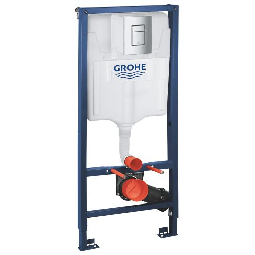 Инсталляционная система Grohe Rapid SL  для подвесного унитаза 3 в 1 Акция!