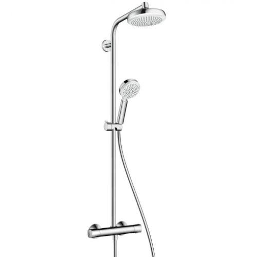 Душевая система с термостатом Hansgrohe Crometta 160 Showerpipe