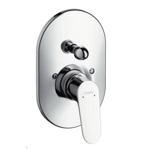 Смеситель для ванны Hansgrohe Focus однорычажный, скрытый монтаж, хром