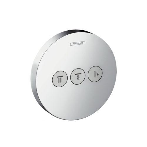 Запорный вентиль Hansgrohe ShowerSelect S для 3 потребителей