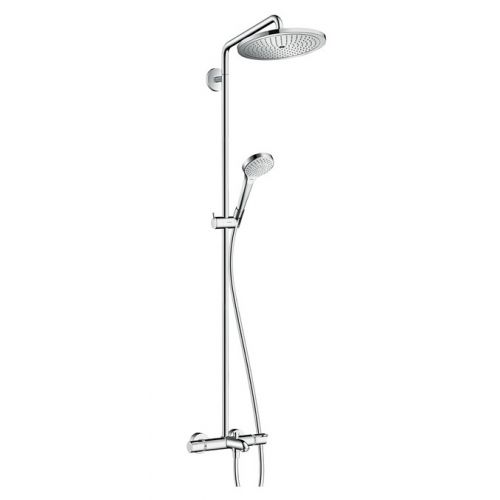 Душевая система для ванны с термостатом Hansgrohe Croma Select 280 Air 1jet Showerpipe , хром