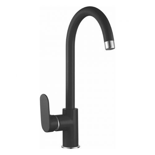Imprese LASKA смеситель для кухни, черный, 35мм