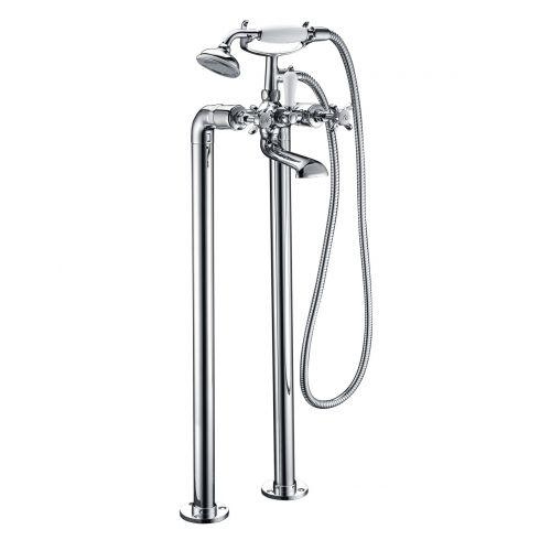 Imprese Cuthna stribro смеситель для ванны