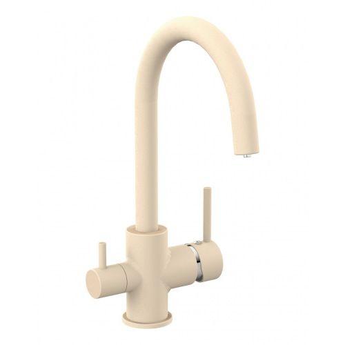 Смеситель для кухни Imprese DAICY-U с подключением питьевой воды, (песок)