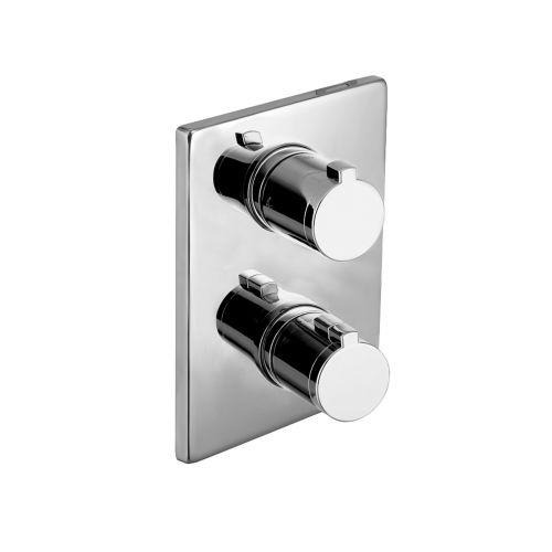 Смеситель для ванны, термостат, скрытый монтаж Imprese CENTRUM (3 потребителя)