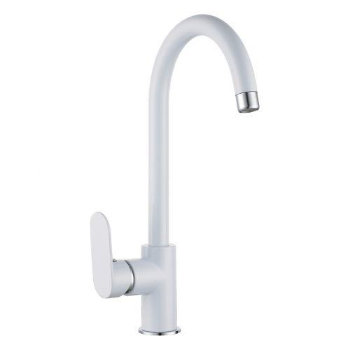 Imprese LASKA смеситель для кухни, белый, 35мм