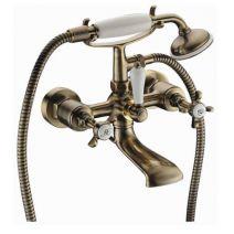 Смеситель для ванны Imprese Cuthna antiqua, бронза