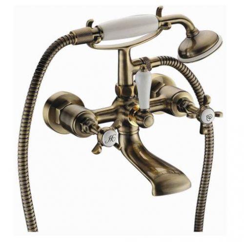 Imprese Cuthna antiqua двухвентильный смеситель для ванны, бронза