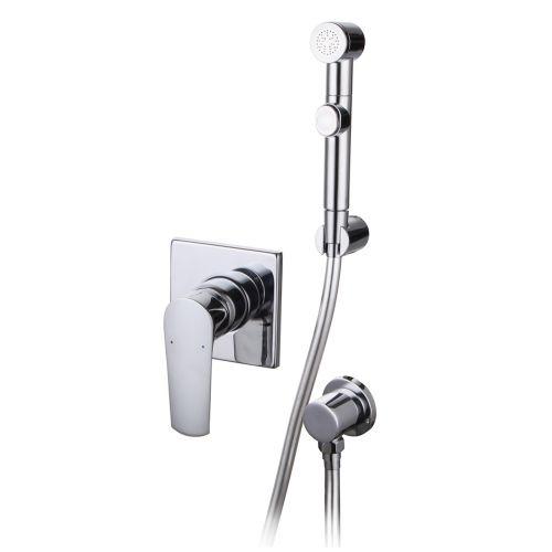 Imprese VYSKOV набор (смеситель скрытого монтажа с гигиеническим душем, шланг полимер)