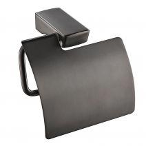 Imprese GRAFIKY держатель для туалетной бумаги, черный мат