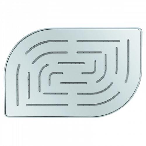 Верхний душ Maze овальный, 200*300мм, хром