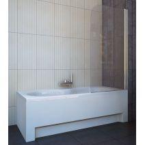 Шторка для ванны Koller Pool QP93 75х140 полир. Прозрачное (левая/правая)