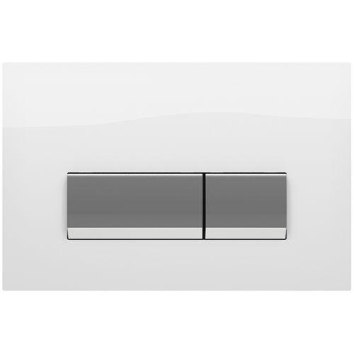 Панель смыва Koller pool Integro White Glass