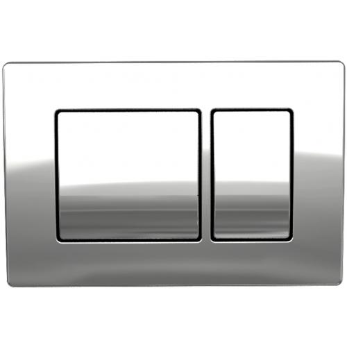 Панель смыва Koller pool Kvadro Chrome