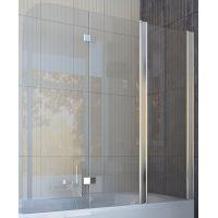 Шторка для ванны Koller Pool QP96 150x140 полир. Прозрачное (левая/правая)