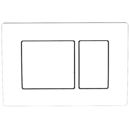 Панель смыва Koller pool Kvadro White