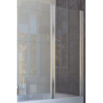 Шторка для ванны Koller Pool QP95 115х140 полир. Матовая (левая/правая)