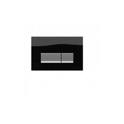 Панель смыва Koller pool Integro Black Glass