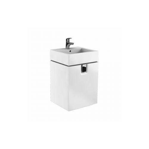 Шкафчик Kolo TWINS под умывальник 50 см с одним ящиком, белый глянец