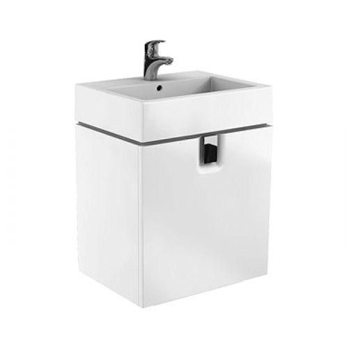 Шкафчик Kolo TWINS под умывальник 60 см с одним ящиком, белый глянец