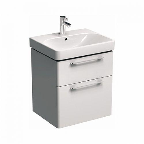 Шкафчик Kolo TRAFFIC под умывальник 75 см, белый глянец