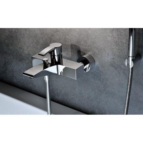 Смеситель для ванны с ручным душем Kraus Illusio KEF-14709 хром