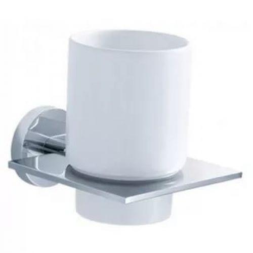Стакан для зубных щеток одинарный Kraus IMPERIUM KEA-12204 хром