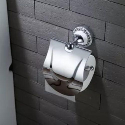 Держатель туалетной бумаги подвесной Kraus Apollo KEA-16526 хром