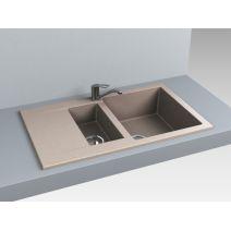 Кухонная мойка Miraggio LaPas 786x489х203, цвет на выбор