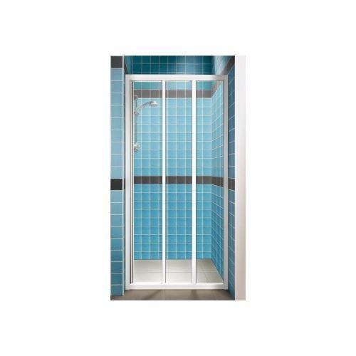 Душевые двери Ravak ASDP3- 130 Белый TRANSPARENT
