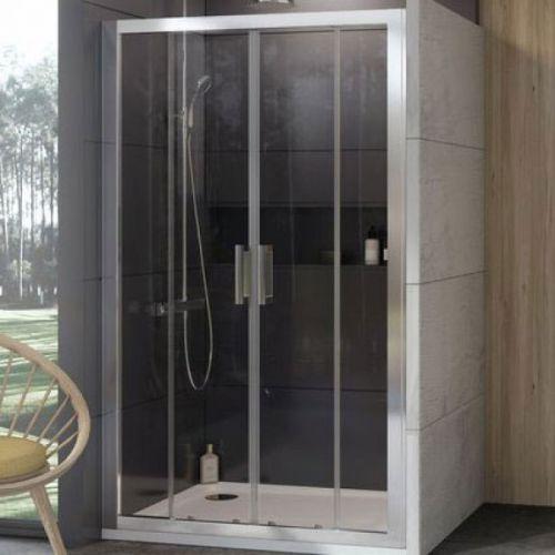 Душевые двери Ravak 10DP4-120 Белый TRANSPARENT