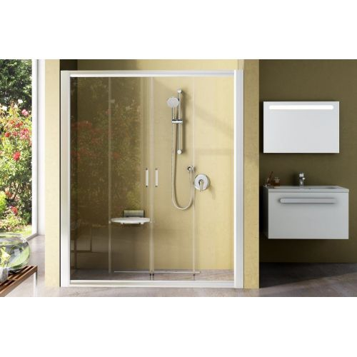 Душевые двери Ravak BLDP4- 180 Белый GRAFIT