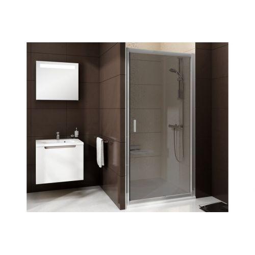 Душевые двери Ravak BLDP2- 100 Полированый алюминий GRAFIT