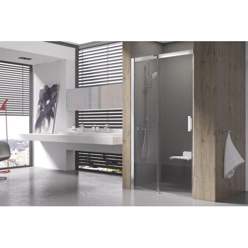 Душевые двери Ravak MSD2- 100 L Полированый алюминий TRANSPARENT