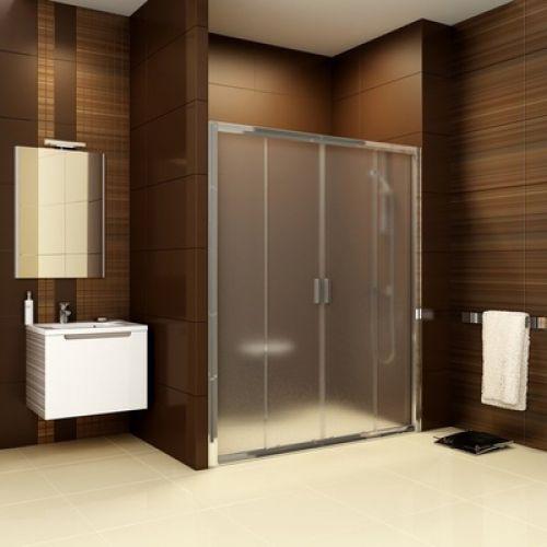 Душевые двери Ravak BLDP4- 130 Полированый алюминий GRAFIT