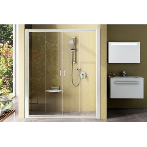 Душевые двери Ravak BLDP4- 170 Белый TRANSPARENT